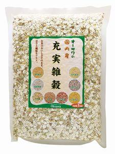 メーカー:オーサワ 新作 大人気 オーサワの充実雑穀 1kg 店内全品対象
