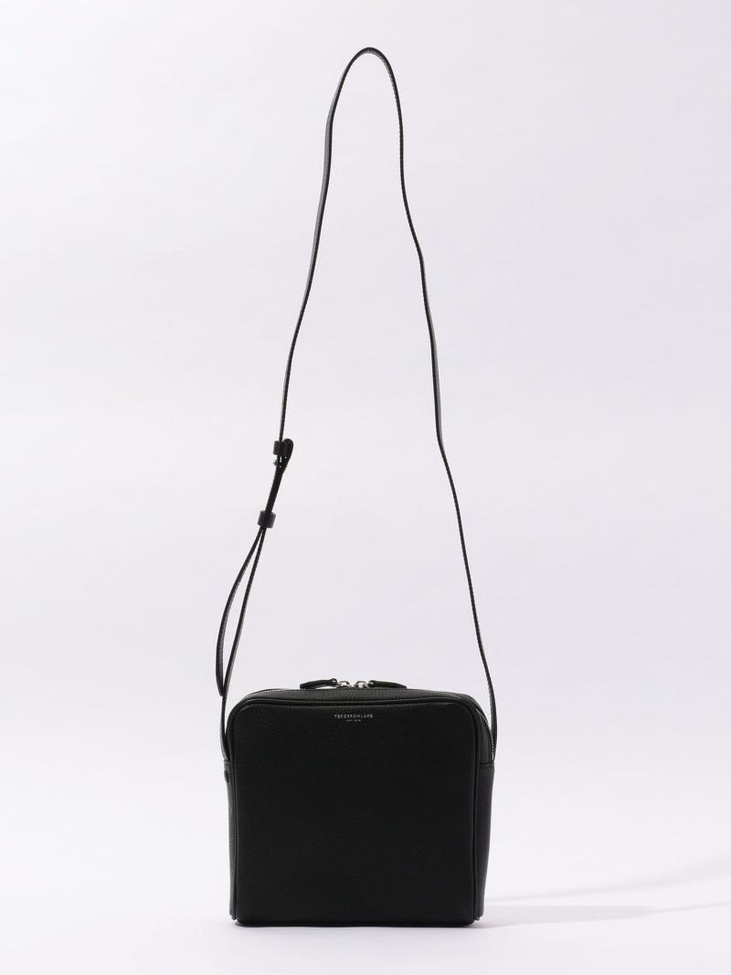 卸直営 TOMORROWLAND メンズ バッグ トゥモローランド GOODS Rakuten 安い ミニショルダーバッグ Fashion 送料無料 シュリンクレザー トートバッグ