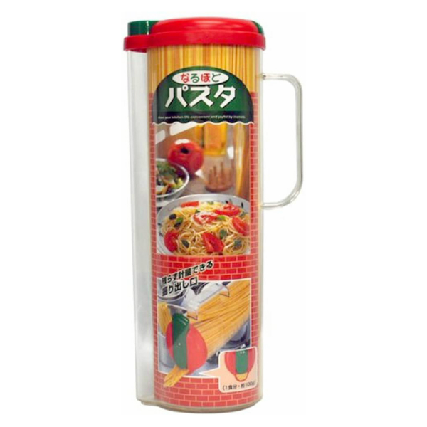 パスタに触れず計量ができるパスタ容器 イノマタ化学 なるほどパスタ バースデー 記念日 ギフト 贈物 お勧め 通販 保存容器 パスタボトル プレゼント 日本製