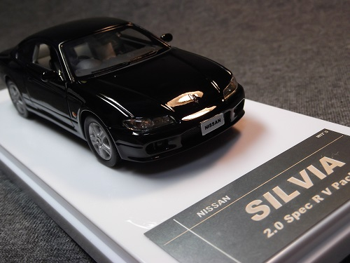 WIT'S W352 1/43 SILVIA 20 Spec R V Package スーパーブラック