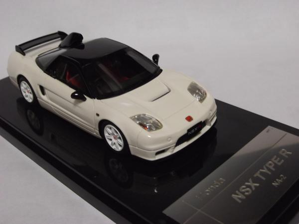 WIT'S W66 1/43 ホンダ NSX タイプR NA2 ホワイト