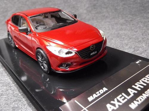WIT'S W87 1/43 マツダ アクセラ MAZDASPEED Soul Red