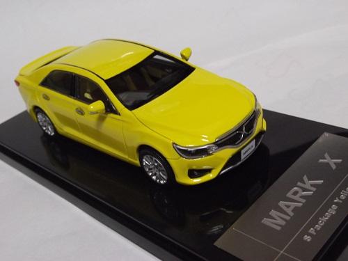 ミニカー WIT'S W461 1/43 MARK X 2.5G Sパッケージ・Yellow Label Awaken Yellow