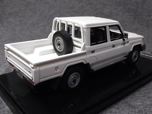 ミニカー WIT'S W449 1/43 LAND CRUISER 70 PICKUP 30th Anniversary ホワイト ランクル