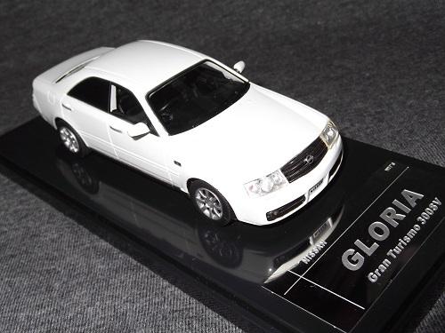 ミニカー Wit's W567 1/43 GLORIA Gran Turismo 300SV ホワイトパール グロリア