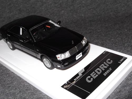 ミニカー Wit's W566 1/43 CEDRIC 300LV ブラック セドリック