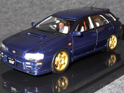 WIT'S W860 1/43 IMPREZA SPORTS WAGON WRX STI version IV ロイヤルブルーマイカ, HIGH FASHION FACTORY:fbcfa2b2 --- co-po.jp