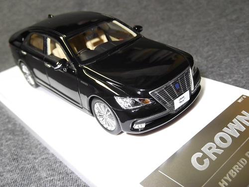 ミニカー WIT'S CT534 1/43 CROWN Hybrid Royal saloon Black