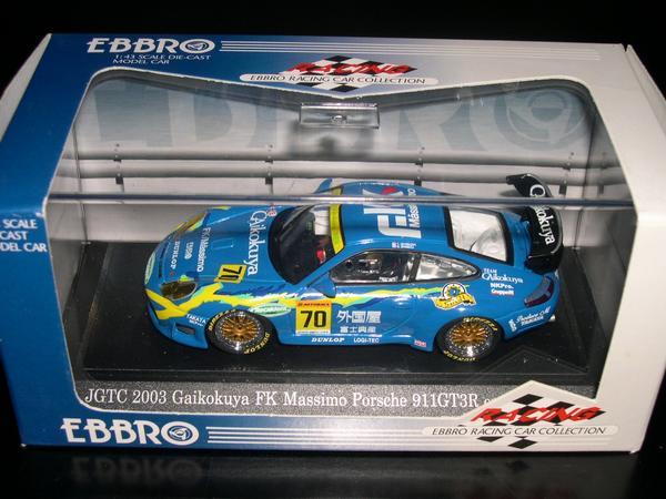 EBBRO 1 海外輸入 43 43513 格安 価格でご提供いたします Gaikokuya DUNLOP GT3R PORSCHE 911