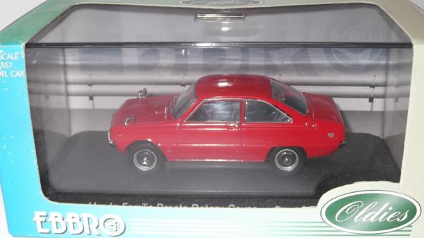 EBBRO 1/43 363 MAZDA FAMILIA ROTARY COUPE Red