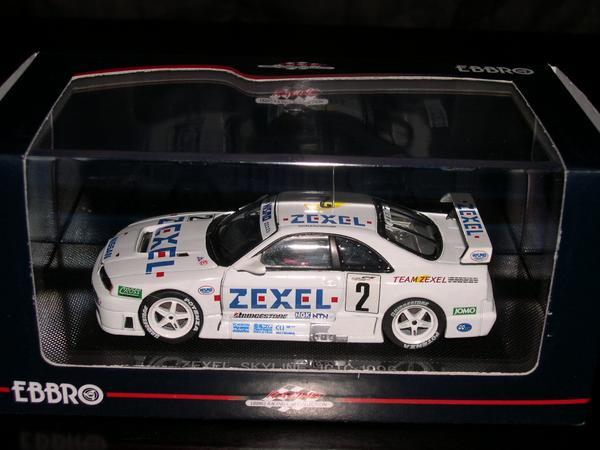 EBBRO 1 43 43978 超目玉 ZEXEL 保証 SKYLINE JGTC 1996