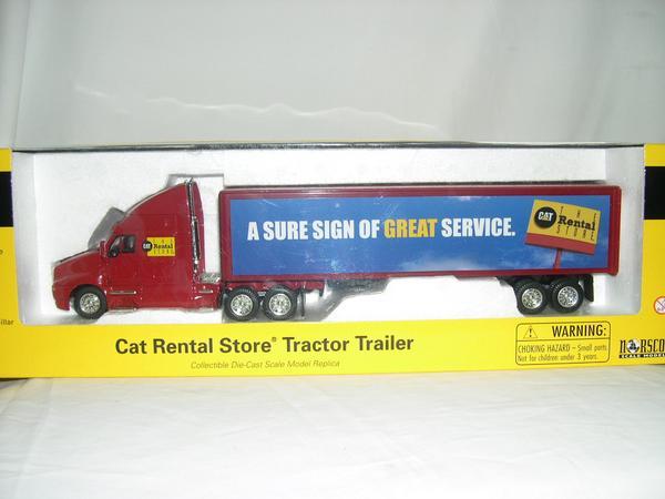 NORSCOT 1 50 55106 CAT Store Tractor 祝日 Rental 期間限定 Trailer