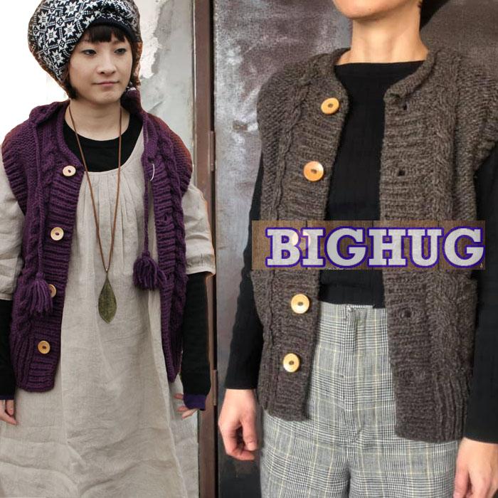 【Big Hug 】フード付!チガーンベスト