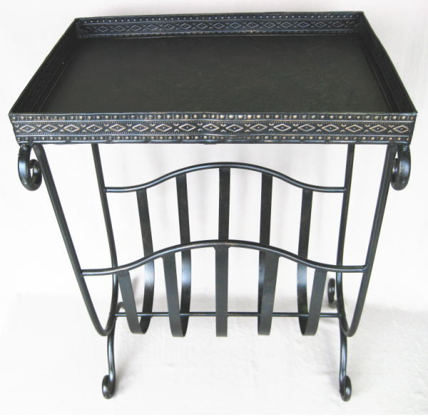 【送料無料】アンティーク調アイアン製テーブル【YDKG】【あす楽_土曜営業】【あす楽_日曜営業】
