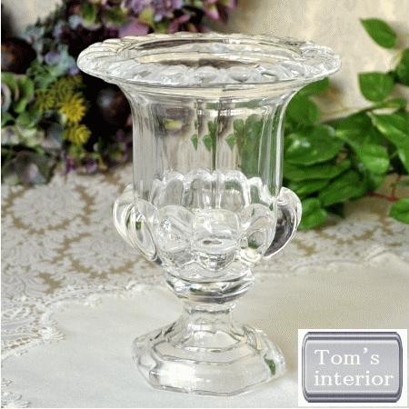 【ガラスポットフラワーベース】 置物 花器 フラワーベース ガラス ギフト プレゼント