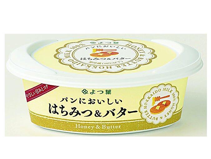 はちみつ バターのコク 2層構造 着後レビューで 送料無料 はちみつバター100g×5個 お見舞い よつ葉パンにおいしい