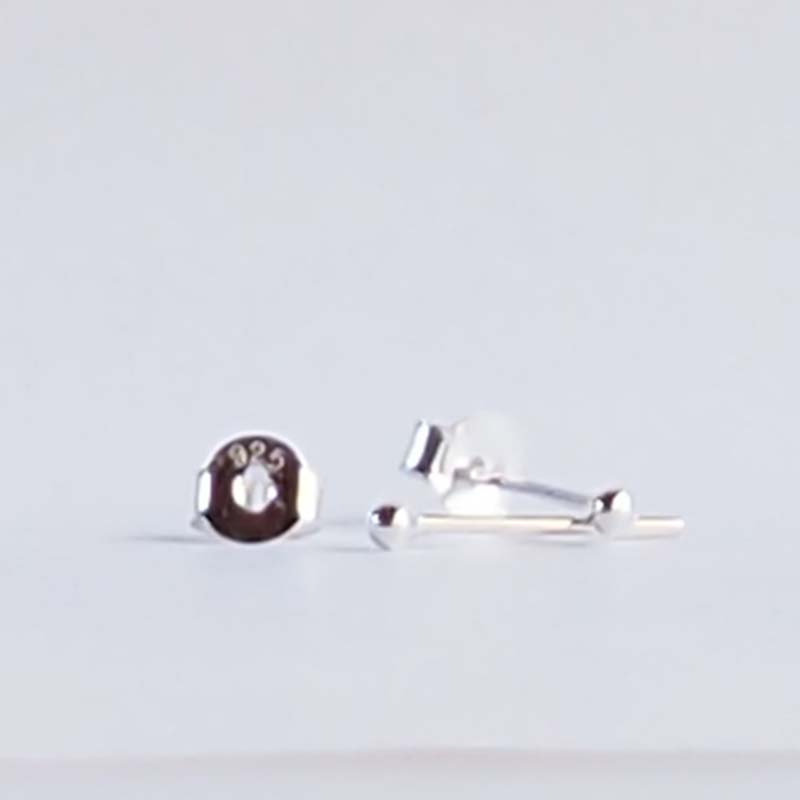 クリックポスト発送 送料無料 シンプルな定番丸玉ピアス 40%OFFの激安セール シルバー丸玉ピアス TM15-1.5mm×2ペア シルバー925 タイムセール シンプル クラビ ピアス krabi ボール 丸玉
