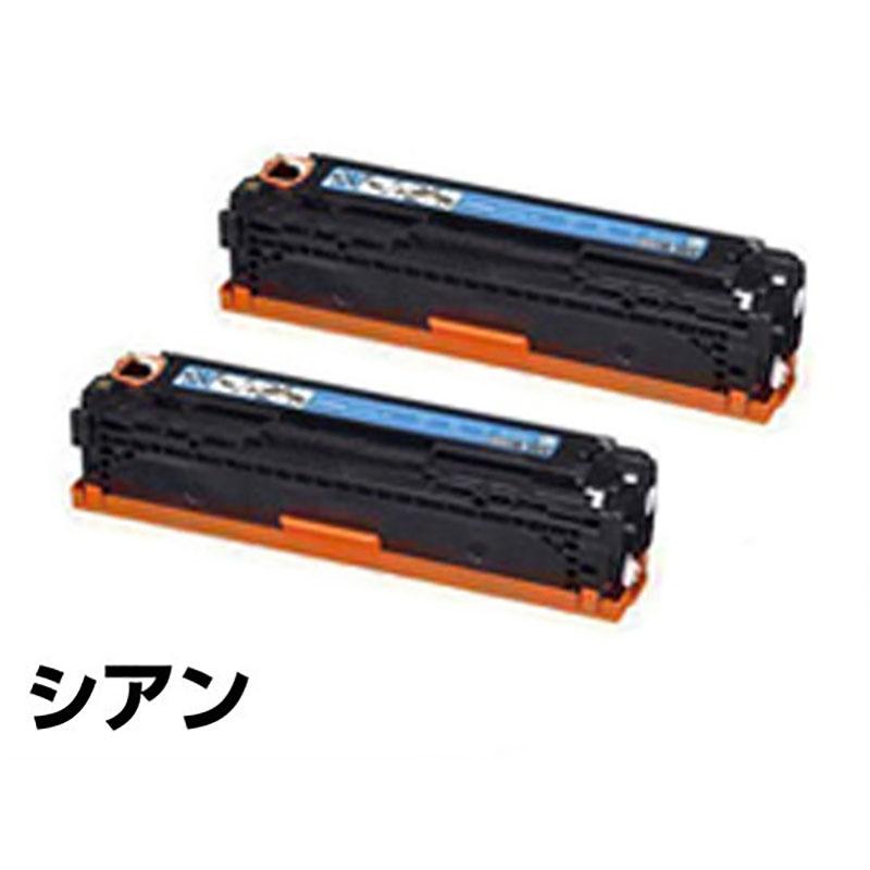 CRG 416 トナー カートリッジ416 キャノン MF 8030C 8040C 8050C 青 シアン 2本 純正