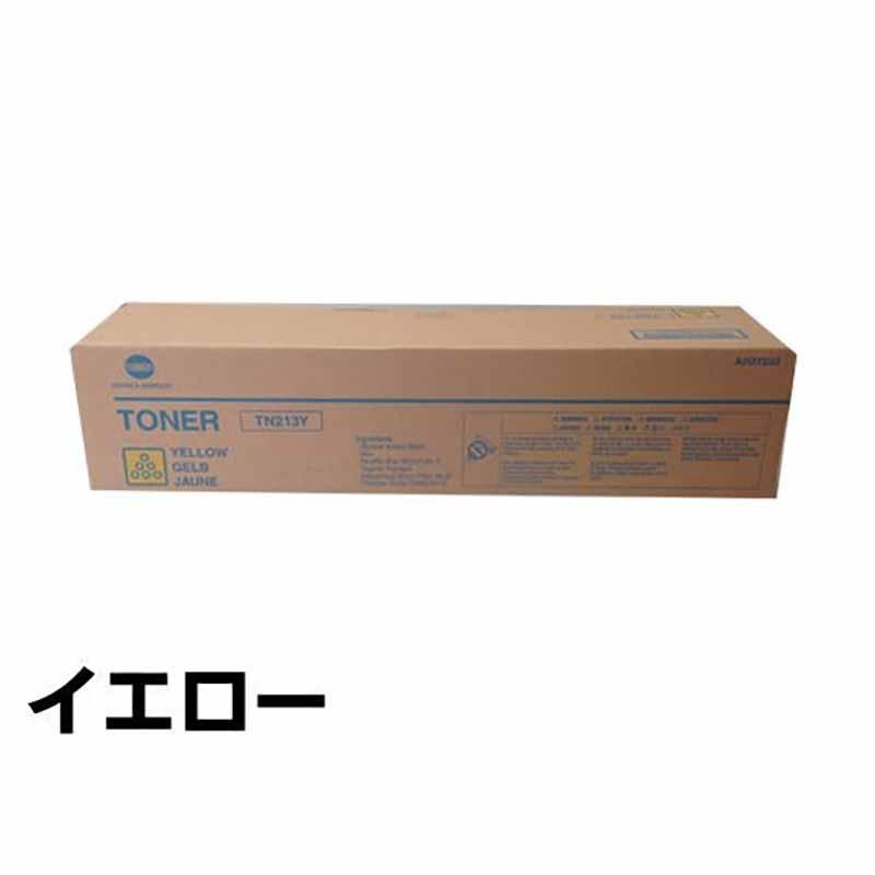 TN213 トナー コニカミノルタ Bizhub C203 C253 トナー 黄 イエロー 純正