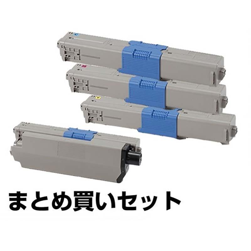 TC-C4AK1 C1 M1 Y1 トナー OKI MC363dnw C332dnw トナー 4色 純正