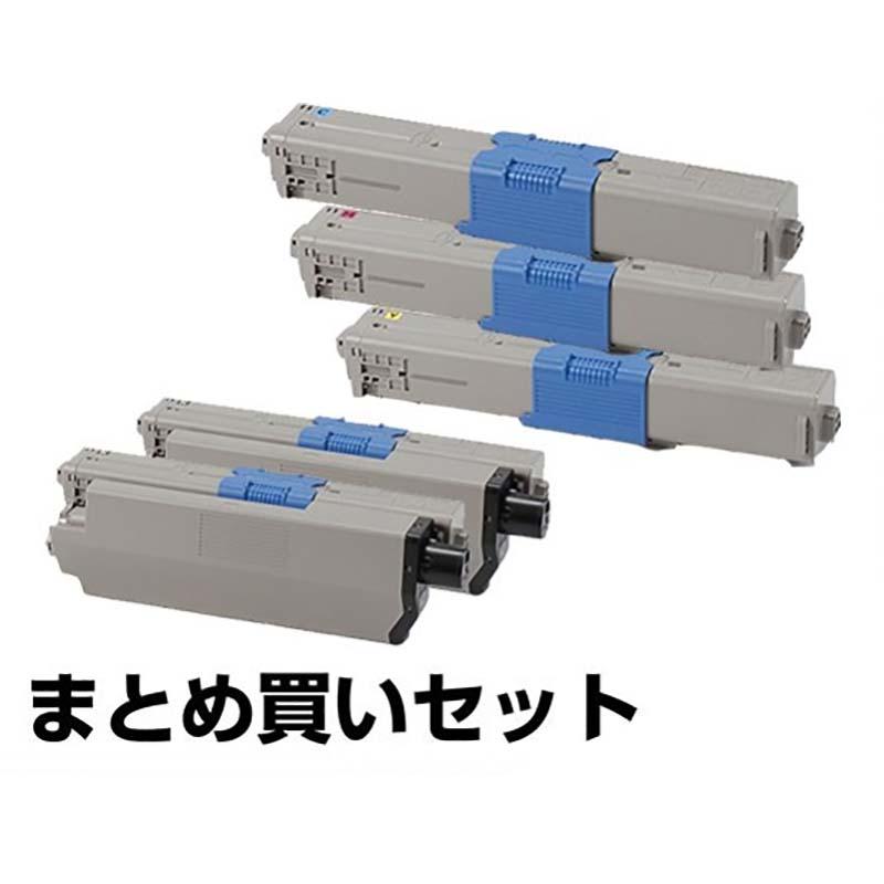 TC-C4AK1 C1 M1 Y1 トナー OKI MC363dnw C332dnw トナー 4色 +黒 1本 純正