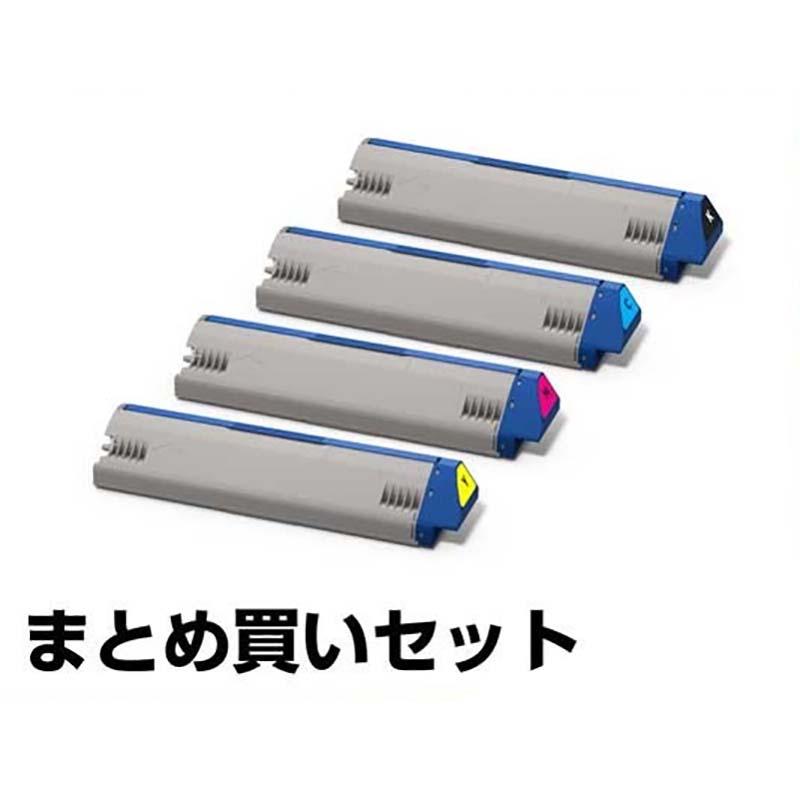 TNR-C3RK1 C1 M1 Y1 トナー OKI C941 C931 大容量 4色 純正