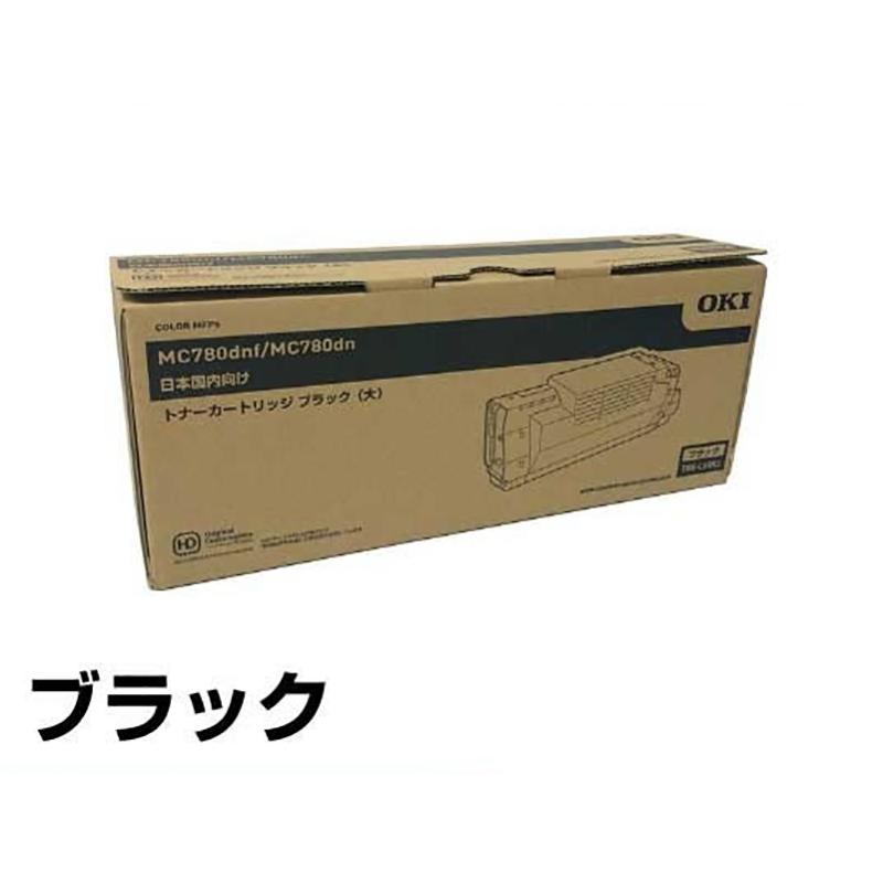 TNR-C4RK1 トナー OKI MC780dnf MC780dn 大容量 トナー 黒 ブラック 純正