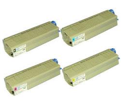 TNR-C4F2 4色セット リサイクルトナー