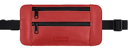 【From NYC】2019SS 19SS Supreme Leather Waist / Shoulder Pouch Red シュプリーム レザー ウエスト ショルダー ポーチ BOX