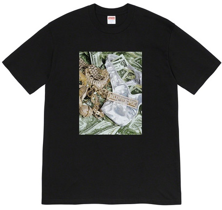 【From NYC】2020SS 20SS Supreme Bling Tee Black BOX シュプリーム ブリング T シャツ ボックス
