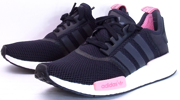 and adidas NMD RNR W Black adidas n m d Womens ladies black pink black  Kanye West KANYE 73ae047df9