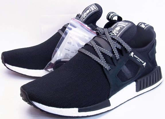 Cheap Adidas NMD R2 Men's Running Shoes Black/Black/White