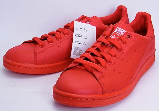 all red pharrell adidas