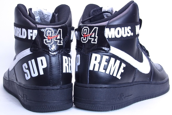 Air Force 1 High Supreme World Famous Black