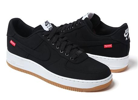 NIKE AIR FORCE 1 LOW PREMIUM 08 NRG SUPREME collaboration with BLACK 30 anniversary