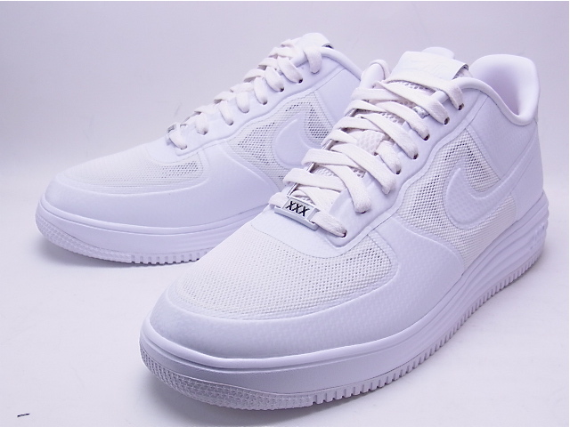 NIKE LUNAR FORCE 1 FUSE NRG White Nike Air Force 1 Luna fuse XXX 30 anniversary