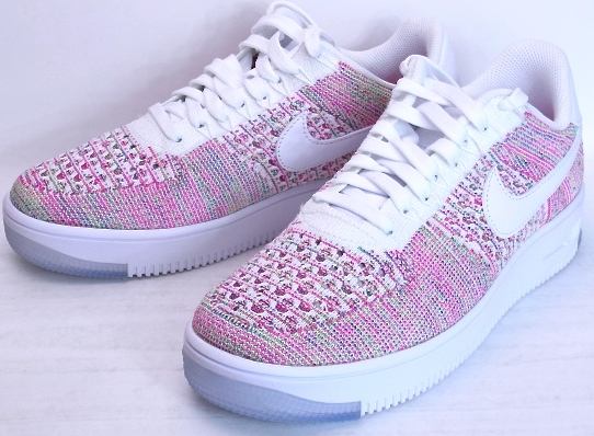 4e6f99b1055 NIKE WMNS AIR FORCE 1 FLYKNIT LOW Nike Air Force 1 Flint low Nike Air Force  ...