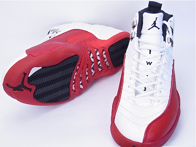 online store ce359 c6929 12 12 original NIKE AIR JORDAN White/Red nike Air Jordan Chicago Bulls  130,690-161