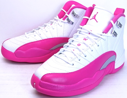 competitive price c76bb d119e AIR JORDAN 12 RETRO GG White Pink Nike Air Jordan 12 retro white pink  510815-109