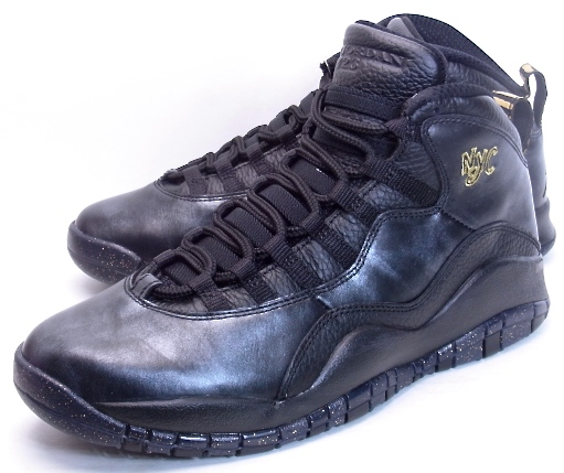 NIKE AIR JORDAN 10 RETRO NYC CITY PACK Nike Air Jordan 10 New York City  Pack 310805-012