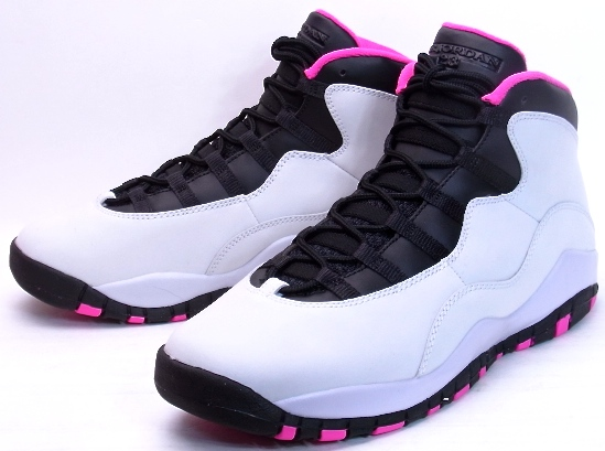 bfdc466b5ea622 ... best price nike girls air jordan 10 retro gs vivid pink 2016 nike air  jordan 10