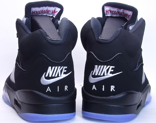brand new b3ffe 1c0a5 2016 NIKE AIR JORDAN 5 RETRO OG Black/Metallic Silver NIKE AIR Nike Air  Jordan 5 retro Black metallic silver 845035-003