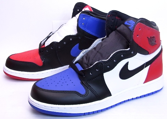 ff05b56188f6 NIKE AIR JORDAN 1 RETRO HIGH BG TOP3 Nike Air Jordan 1 retro Hi Top 3 boys  girl 575441-026