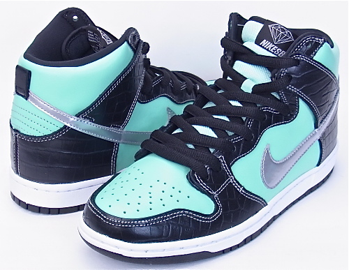 e880a91f84 TONNEAU: NIKE DUNK HIGH PRM SB DIAMOND SUPPLY TIFFANY 653599-400 ...