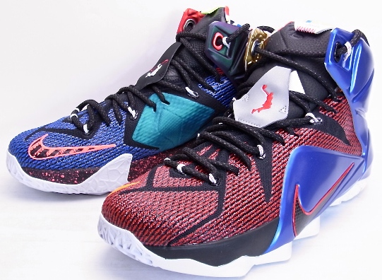 low priced 74ed0 f7a6e NIKE LEBRON XII SE What The Nike LeBron 12 Special Edition fat the  802193-909