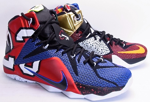 low priced 4620f 7b0c3 NIKE LEBRON XII SE What The Nike LeBron 12 Special Edition fat the  802193-909