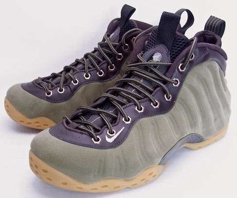 promo code 25b54 84a3f NIKE AIR FOAMPOSITE ONE PRM OLIVE Nike form posit one premium olive