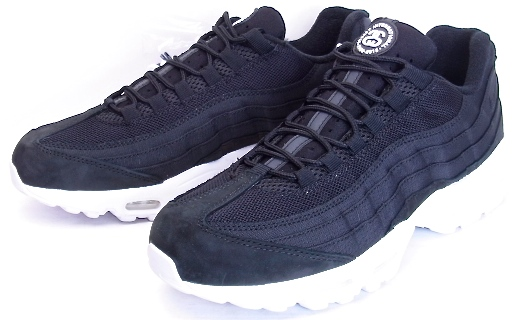 timeless design 82026 c17c6 NIKE AIR MAX 95 / STUSSY Black Nike Air Max 95 Stussy 20th anniversary  commemorative 834668-001