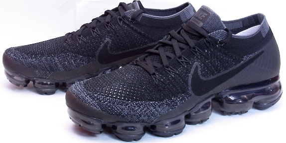 2017 NIKE AIR VAPORMAX FLYKNIT Black Dark Grey air max day Nike air vapor  max fried food knit black dark gray Air Max D 3.26 883,275-400