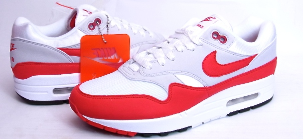 the best attitude a9b16 b3282 2017 AIR MAX 1 ANNIVERSARY air max day WHITE/UNIVERSITY RED Kie Ney AMAX 1  anniversary bar city red Air Max D 3.26 908,375-103